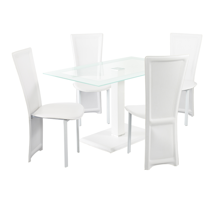 Napa Dining Set - White