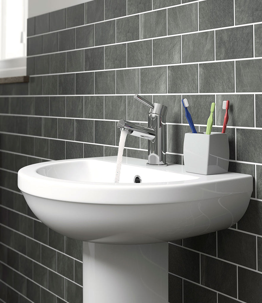 Bathroom accessories matalan - Madison Basin Mixer Tap With Push Waste Matalan Direct