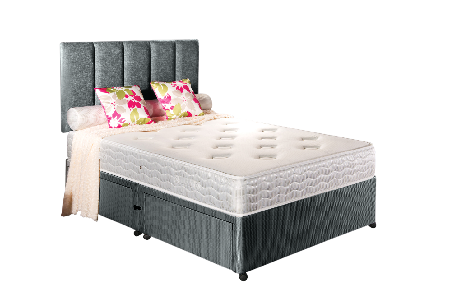 Buy cheap create a king compare beds prices for best uk for Cheap double divan bed and mattress