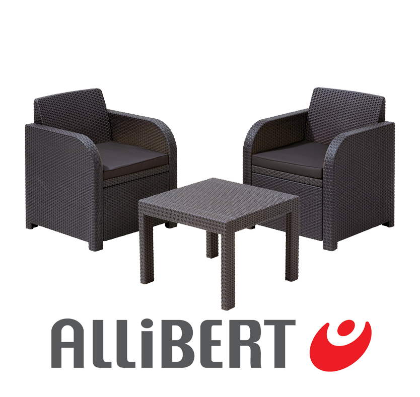 Allibert Mirage Bistro Set
