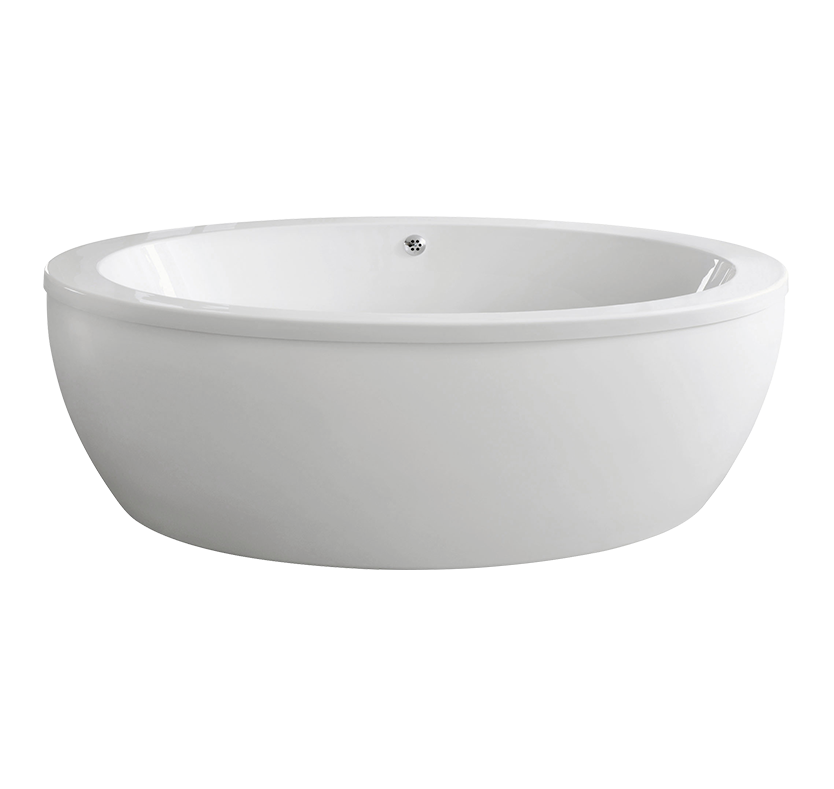 Essentials Pearl Oval Shaped Freestanding Bath