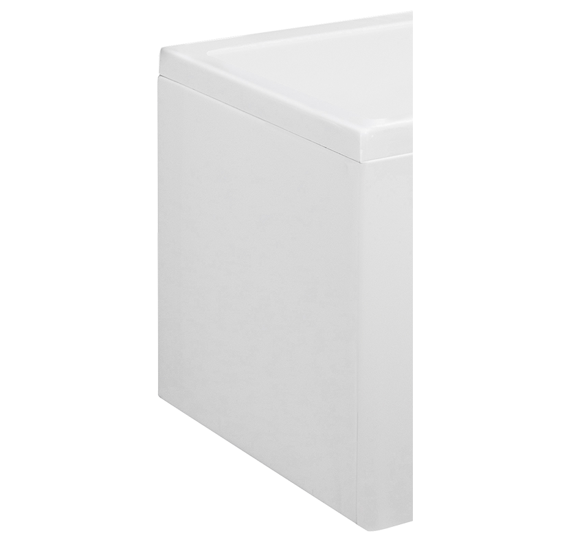 L Shape Shower Bath Front Panel  Acrylic 1700 Acrylic (1700mm)