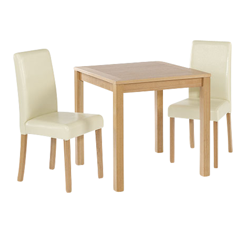 Newport Small Dining Set Black