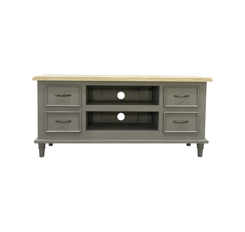 Minister 4 Drawer TV Stand