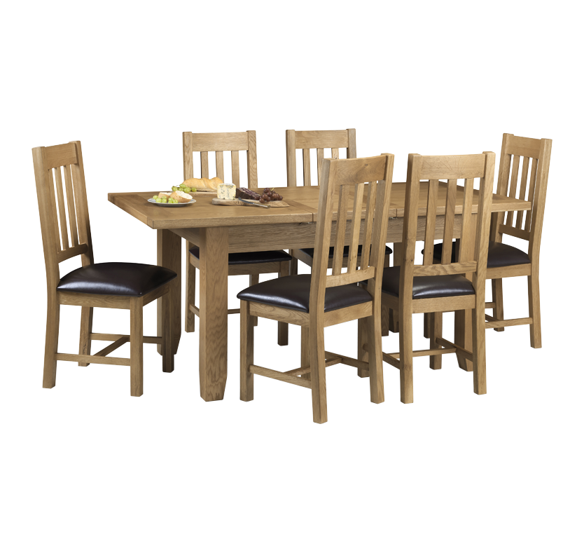 Portland 6 Seater Dining Set