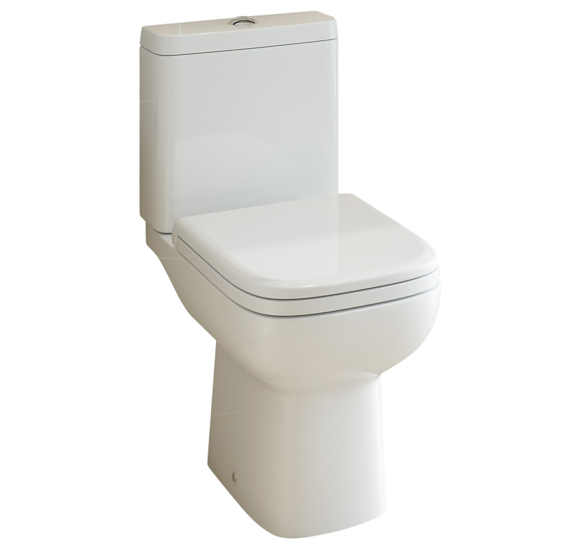 Primo 62 Close Coupled Toilet with Soft-Close Seat