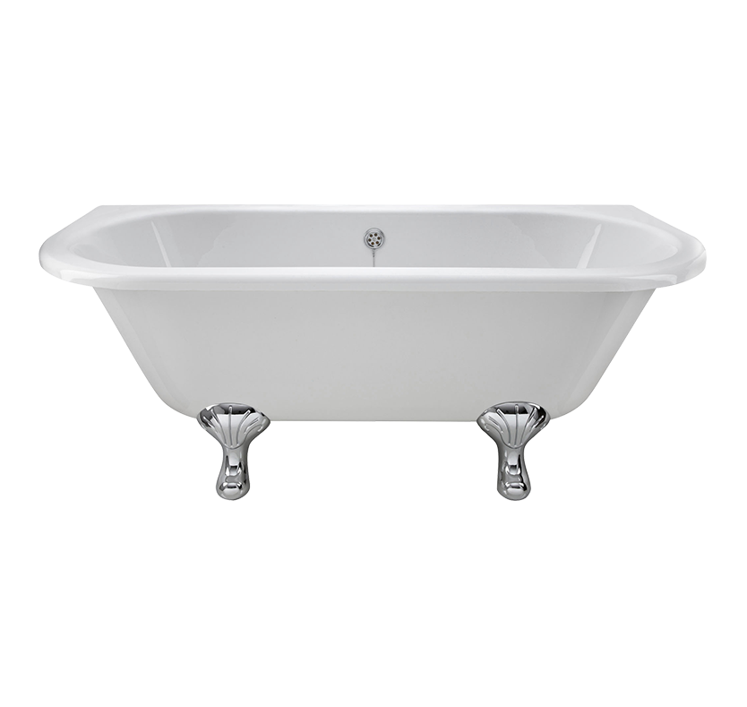 Essentials Alice Double Ended Freestanding Bath