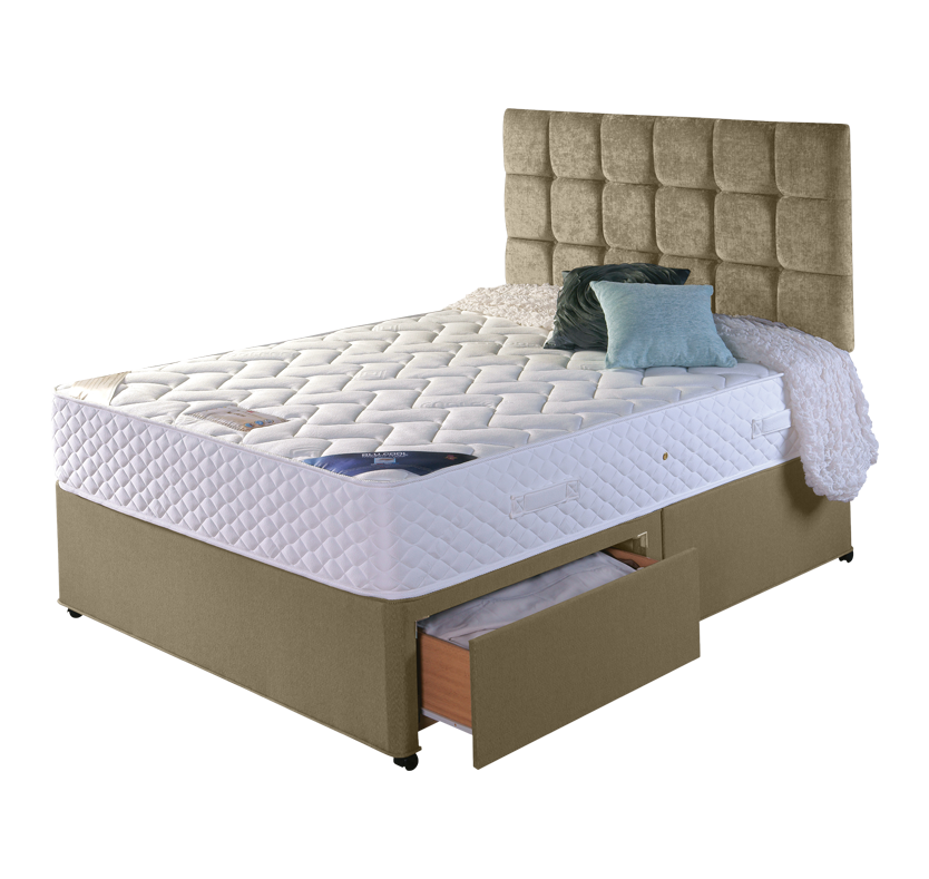 Buy cheap 4 foot divan bed compare beds prices for best for Divan bed feet
