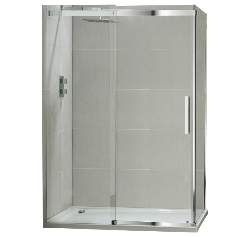S10 Luxury 10mm Sliding Shower Enclosure - 1200mm 1200mm x 760mm