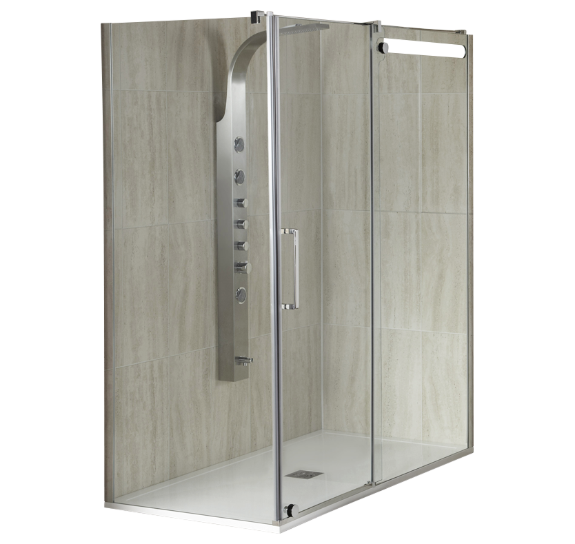 S10 Smooth 10mm Shower Enclosure - 1400mm 1400mm x 760mm