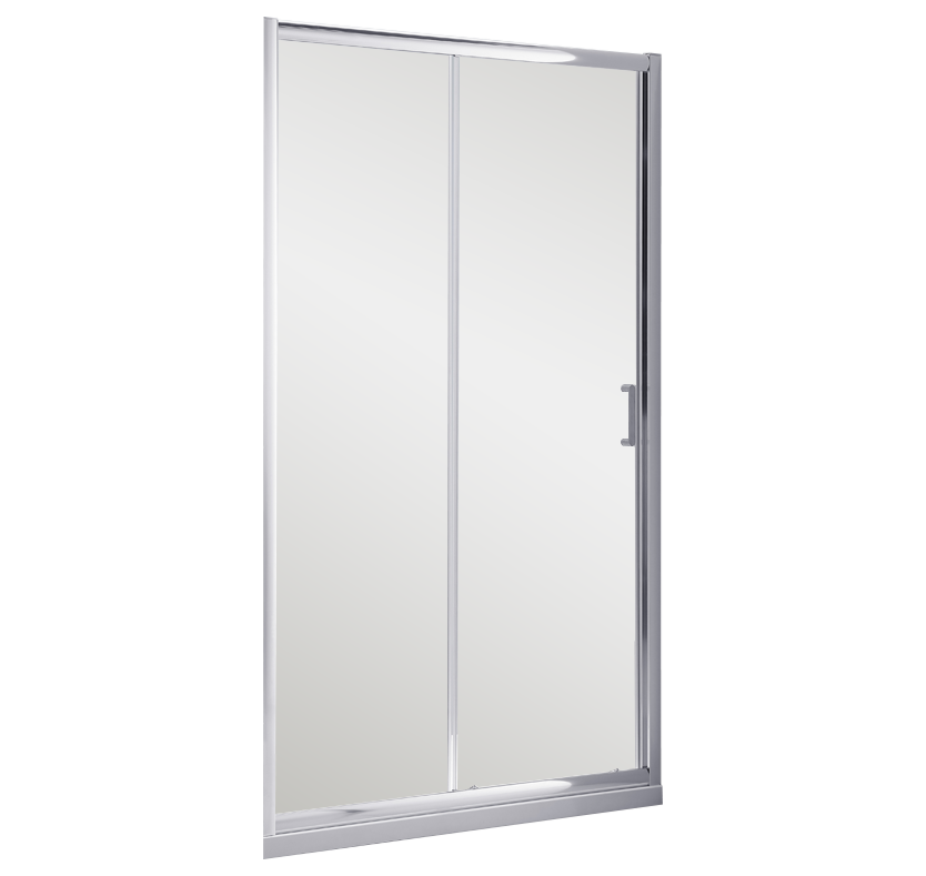 S6 Luxury 6mm Sliding Shower Door 1000mm