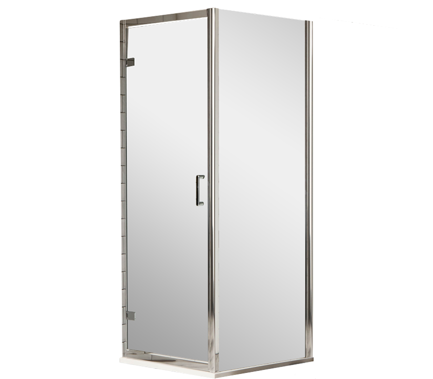 S6 Luxury 6mm Hinged Shower Enclosure 760mm x 760mm