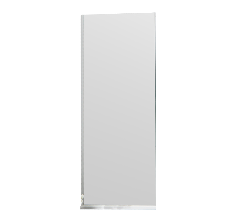 S8 Square 8mm Walk-In Front Panel 950mm