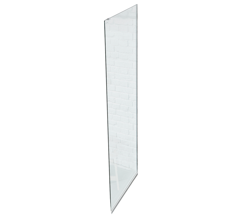 S8 Square 8mm Walk-In Side Panel 760mm