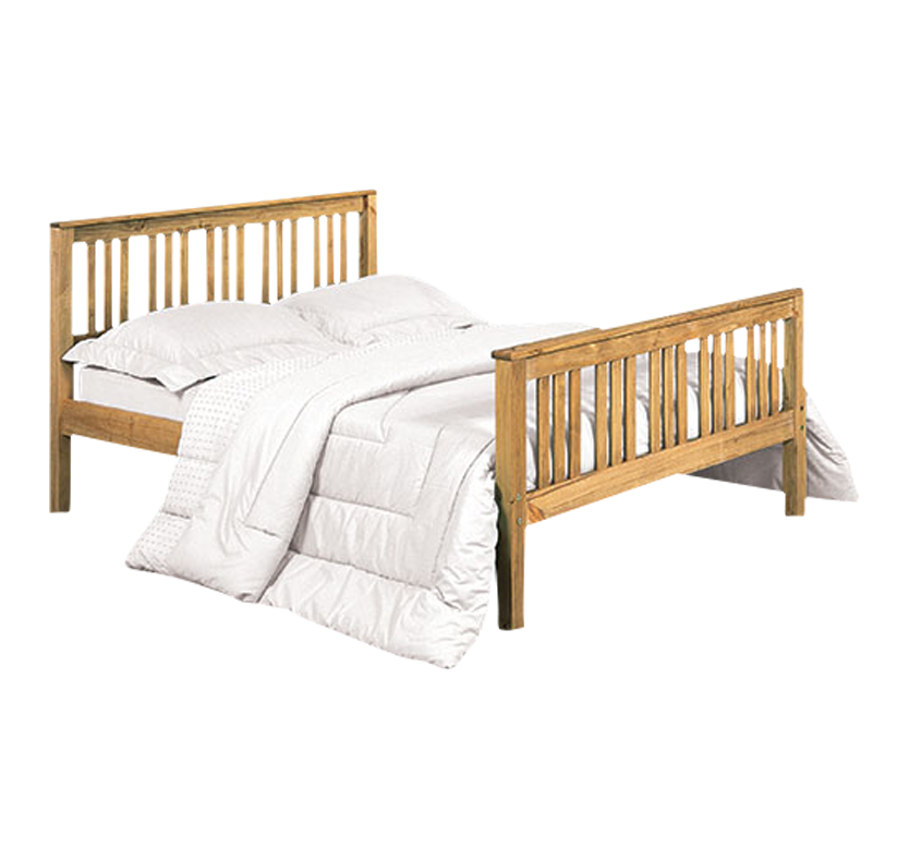 Brompton Bed  Pine King Size