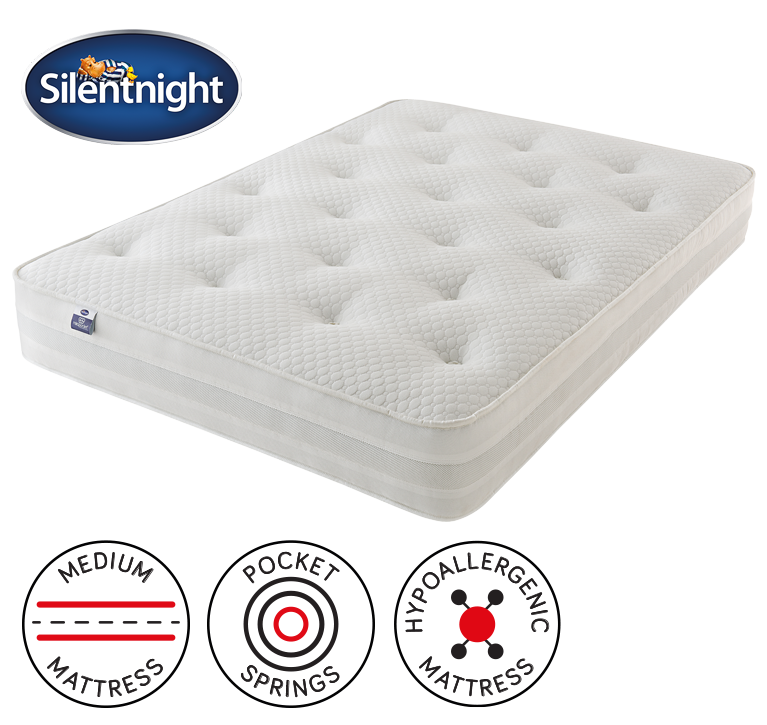 Silentnight 1000 Pocket Tuft Mattress Single