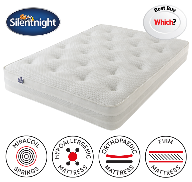Silentnight Mirapocket 1200 Luxury Mattress Single