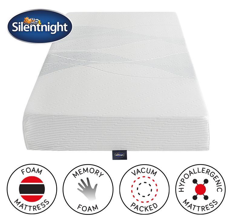 Silentnight Now 3 Zone Memory Foam Mattress Double