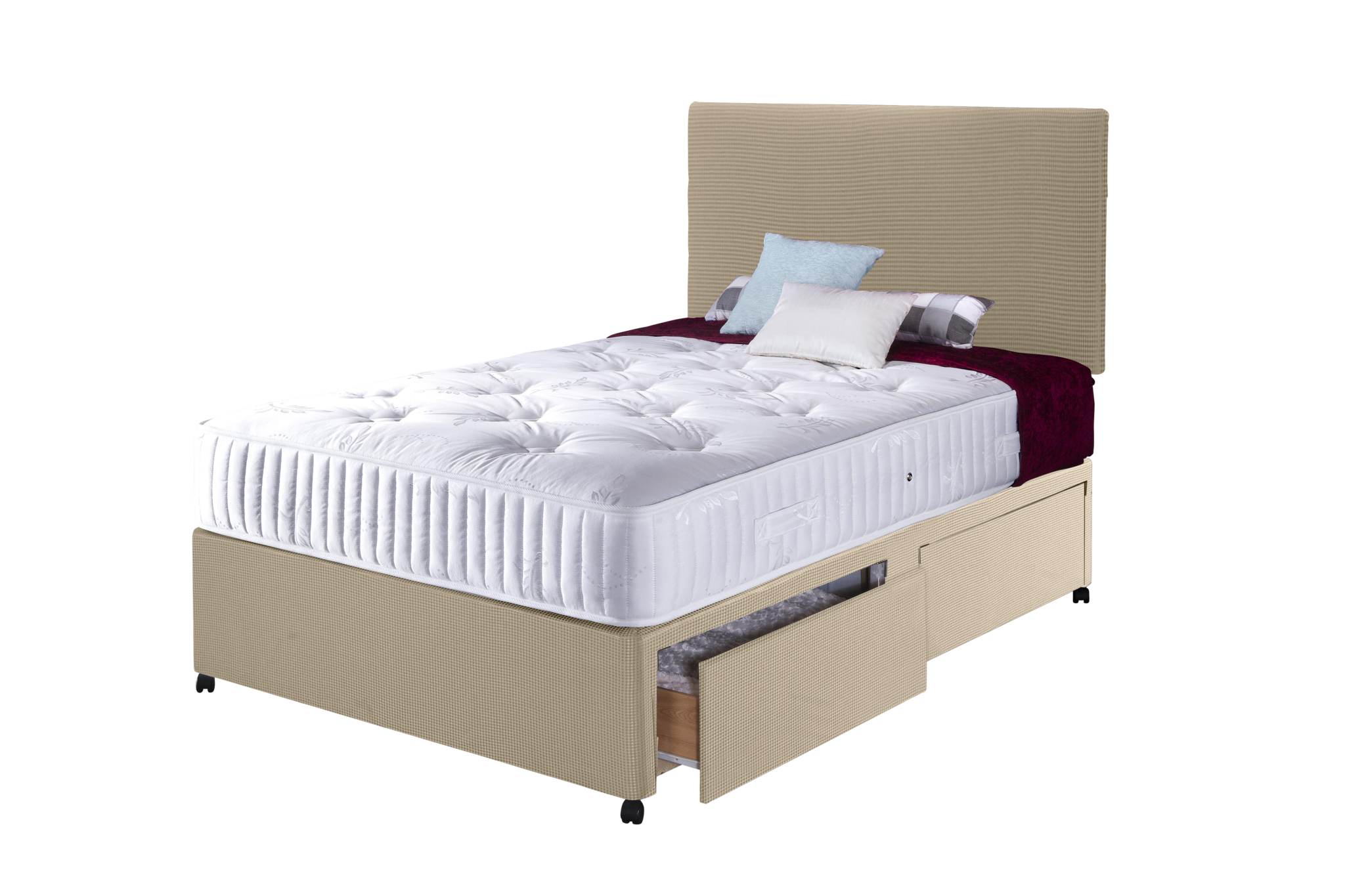 Loft double bed shop for cheap beds and save online for Cheap double divan bed and mattress