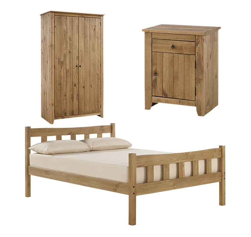 Stamford Double Bedroom Set