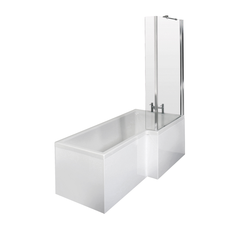 Select Cove Shower Bath Pack With Standard Bath Screen