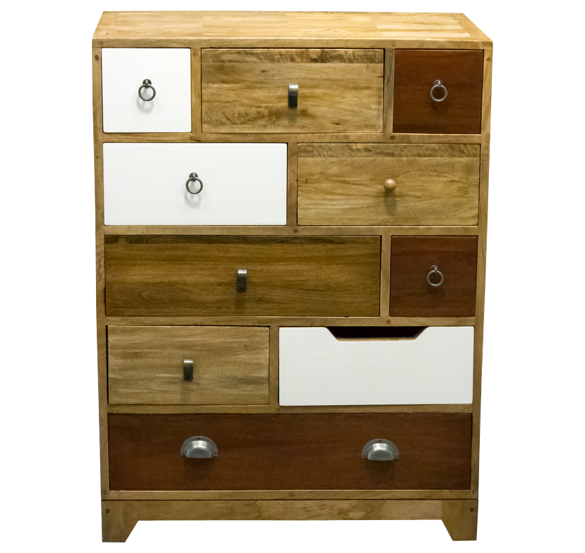 Milton Vintage 10 Drawer Chest