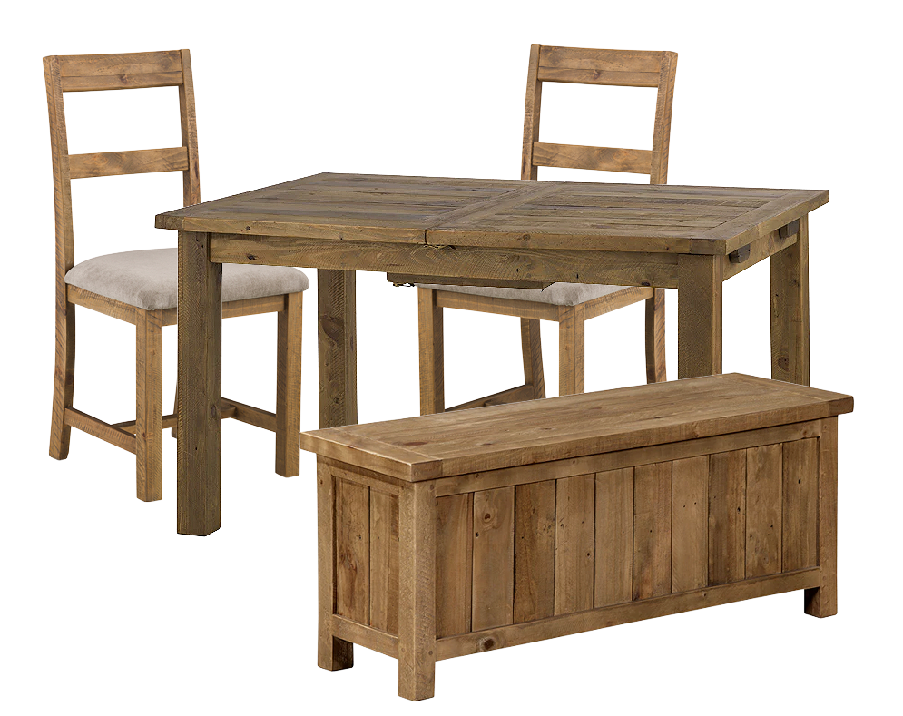 Woodsmith 2 Seater Dining Set with Bench