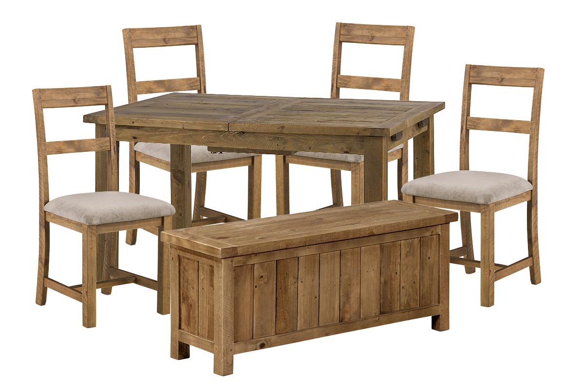Woodsmith 4 Seater Dining Set with Bench