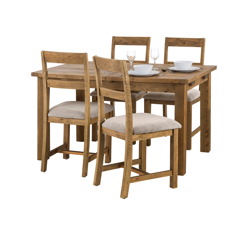 Woodsmith 4 Seater Dining Set