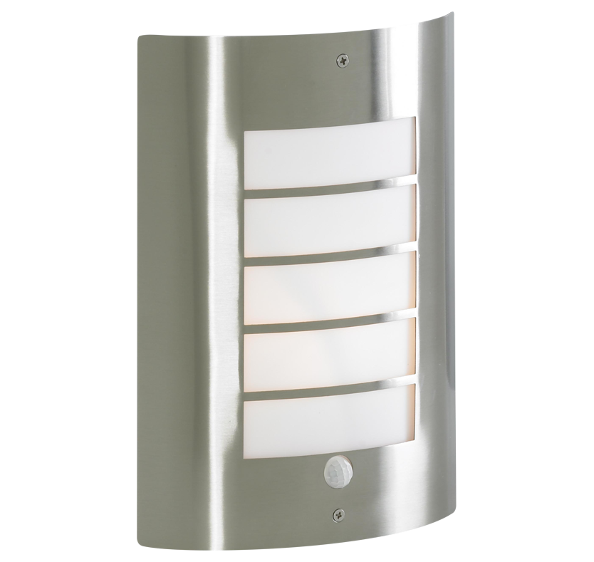 Alessia Slatted Security Light with PIR Sensor