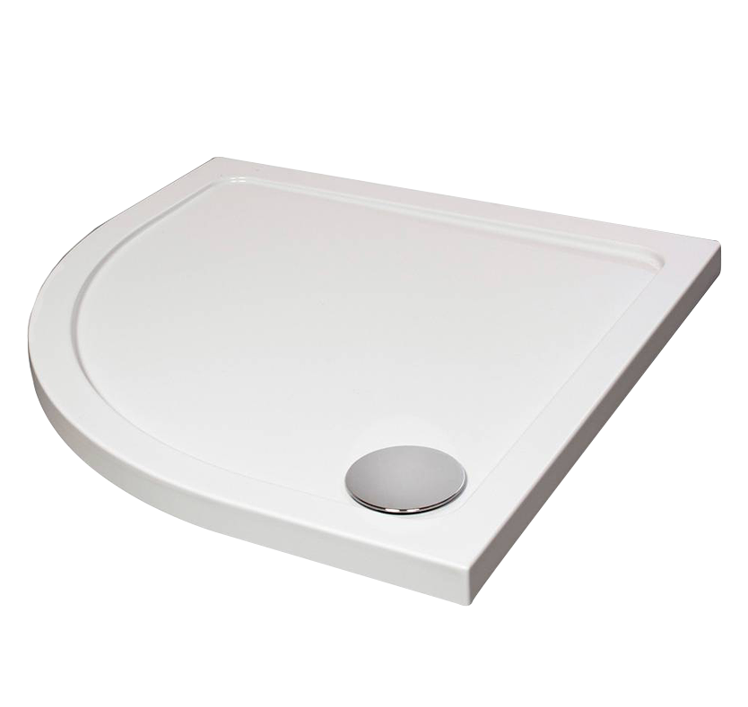 Fusion Designer Quad Shower Tray with Waste 1000mm x 1000mm
