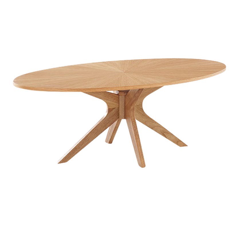 Oslo Dining Table - White Oak