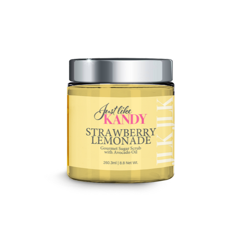 STRAWBERRY LEMONADE GOURMET SUGAR SCRUB