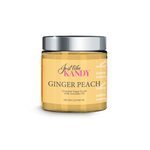 GINGER PEACH GOURMET SUGAR SCRUB