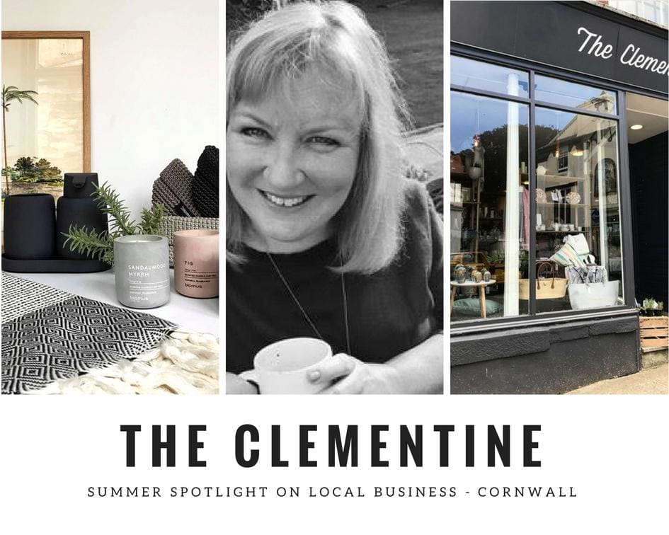 Coastal Interior Inspiration - The Clementine - Cornwall