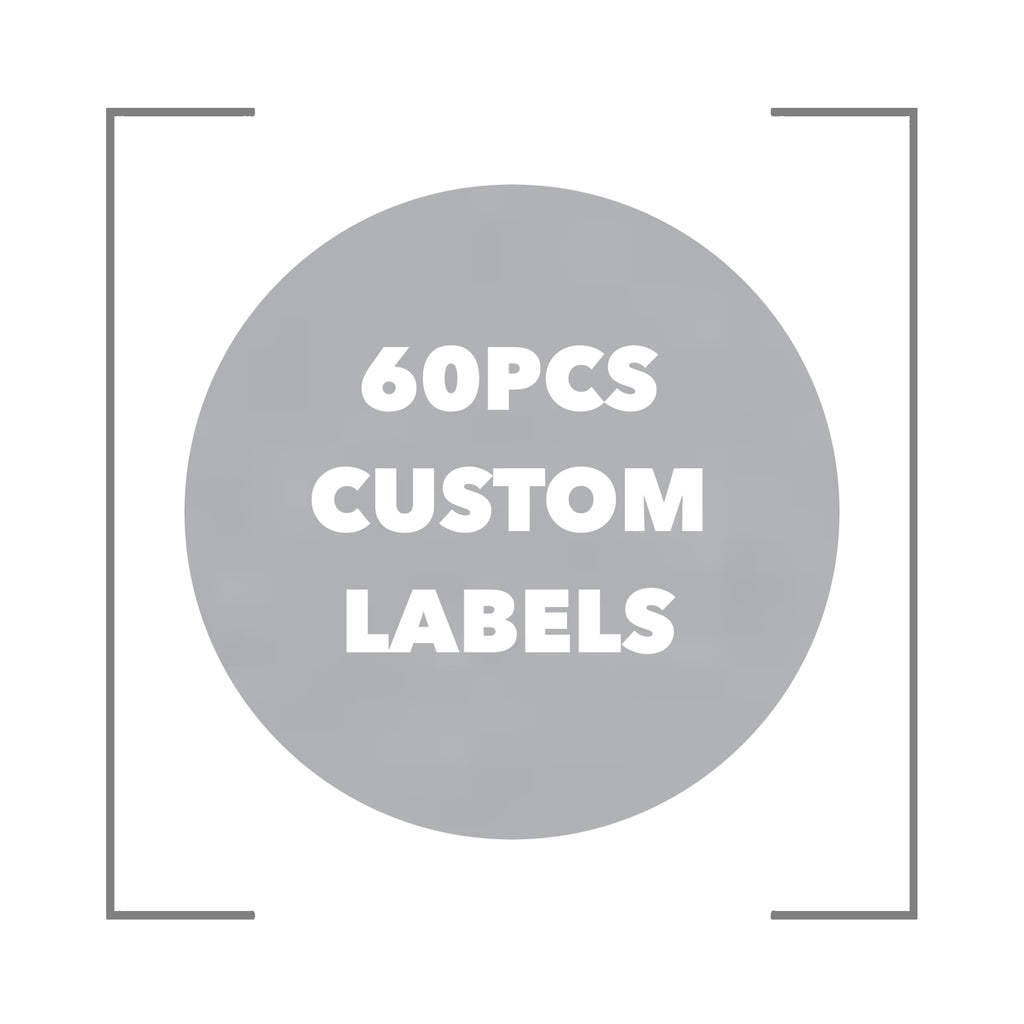 60 Custom Labels