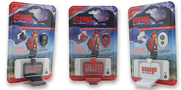 Clip-A-Phone Packaging