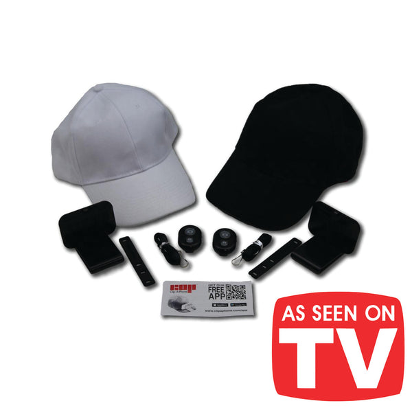 Clip-A-Phone 2 Pack with Hats!