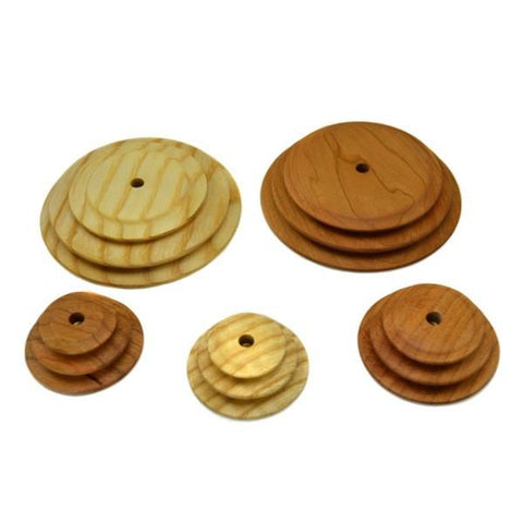 Whorls for Schacht-Reeves Spinning Wheel