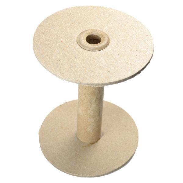 Cardboard Spools with metal ends (10/pkg)