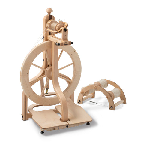 ONE ONLY. Matchless Spinning Wheel - Double treadle - Ex Display - Free UK delivery