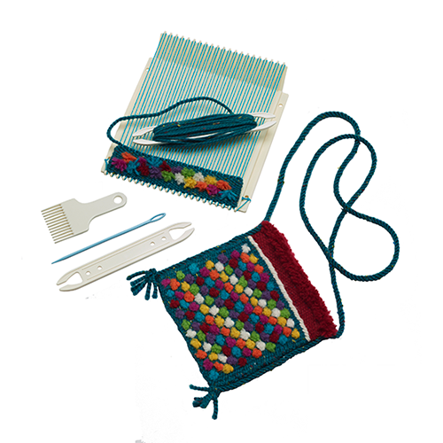 Mini Loom Weaving Kit and Accessories