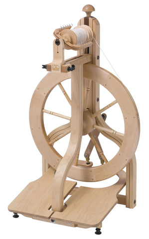 Matchless Spinning Wheel, Double Treadle, Free UK shipping. In stock