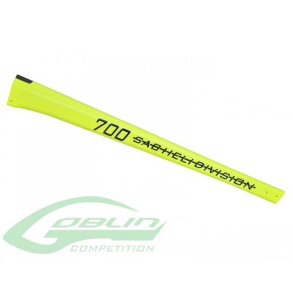 Goblin 700 Competition Carbon Boom YELLOW (SAB)-Canopy-Helilids RC Hobbies