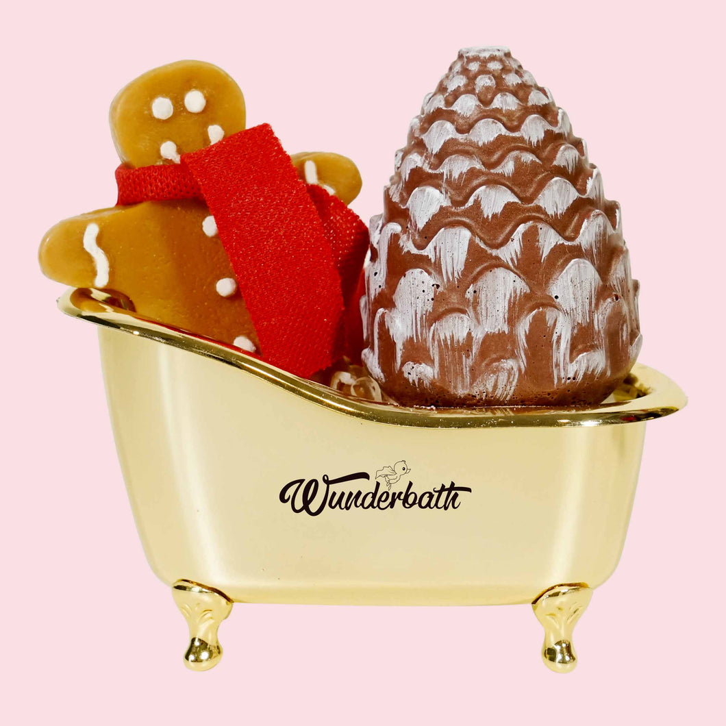 Gingie Pinecone Mini Bath Set