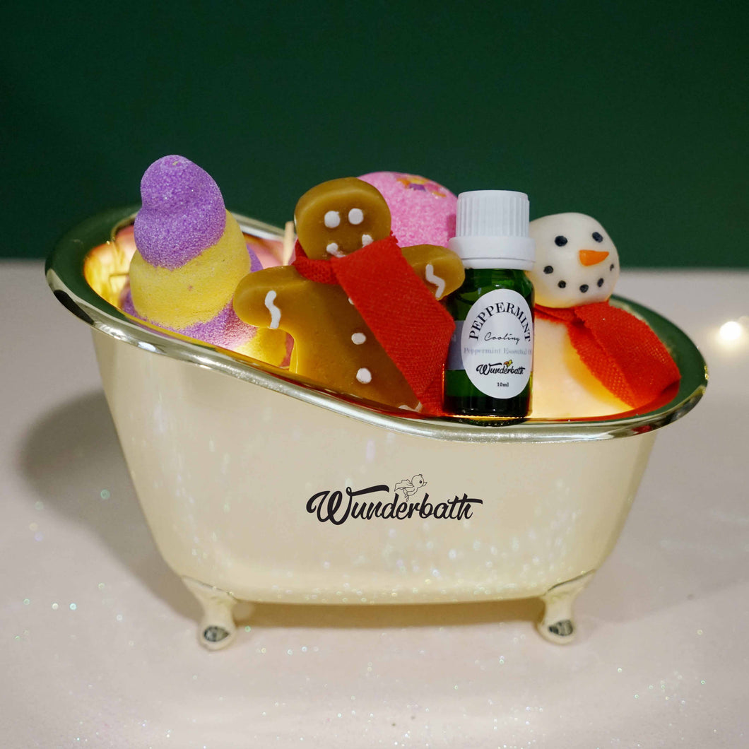 Christmas Carol Bath Set