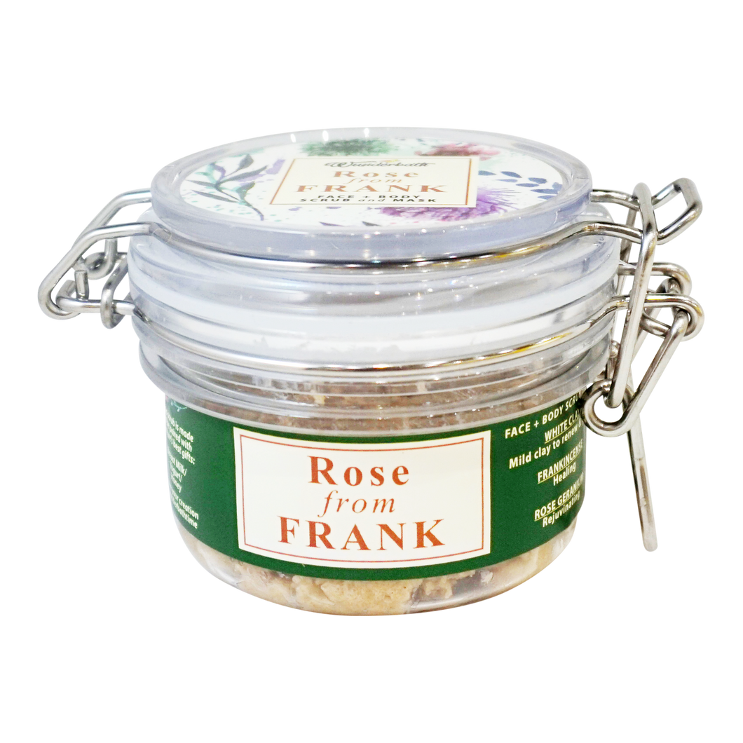 A Rose From Frank // Home Spa Compatible with Breast Milk/Honey/Yogurt