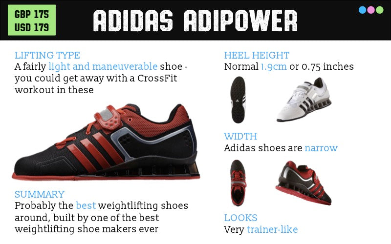 Adidas adiPower Weightlifting Shoes Review