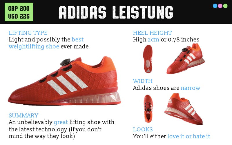 Adidas Weightlifting Shoes Review