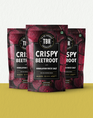 Crispy Beetroot with Himalayan Rock Salt (pack of 3)